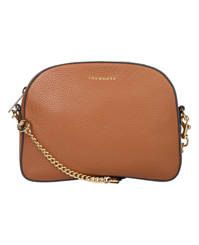 THE HORSE Mini Zip Clutch Tumeric
