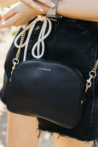 THE HORSE The Dome Bag Black
