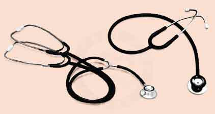 Chrome-Plated Dual-Head Stethoscope (Model 63142)