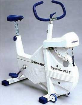 MONARK 828E Professional Ergometer (Model 65100)...  also Model 65145 Club Cycle