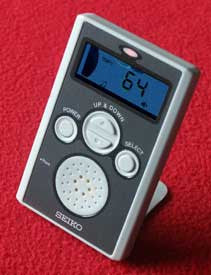 Pocket Metronome with output jack (Model 81445)