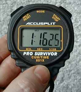 Pro Survivor Stopwatch (Model 82510) with No-Fail Switches