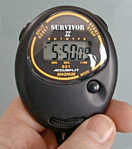 Accusplit Survivor II Digital Stopwatch (Model 82526)