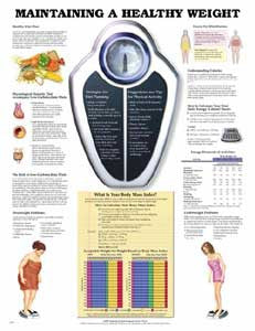 Charts on Healthy Weight, Healthy Eating, and Cholesterol