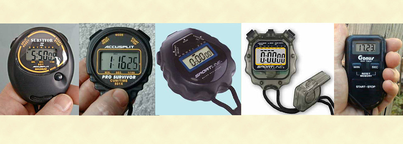 Digital Stopwatches and Timers