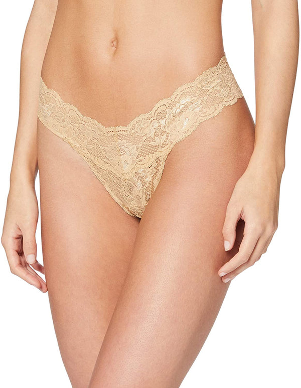 Cutie Lace Thong - Nude - house of lolo