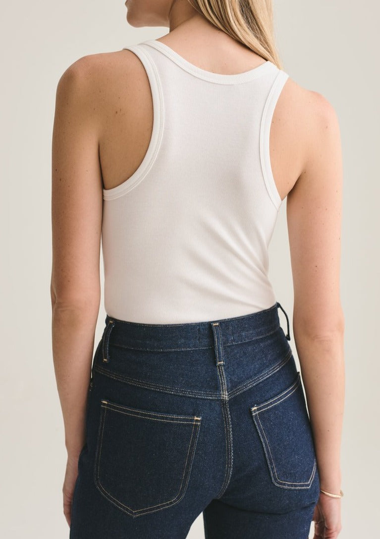 Classic Rib Tank Bodysuit - house of lolo