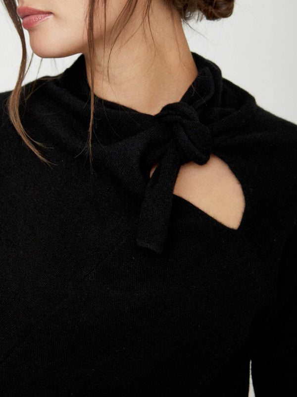 Cleo Tie Pullover - house of lolo