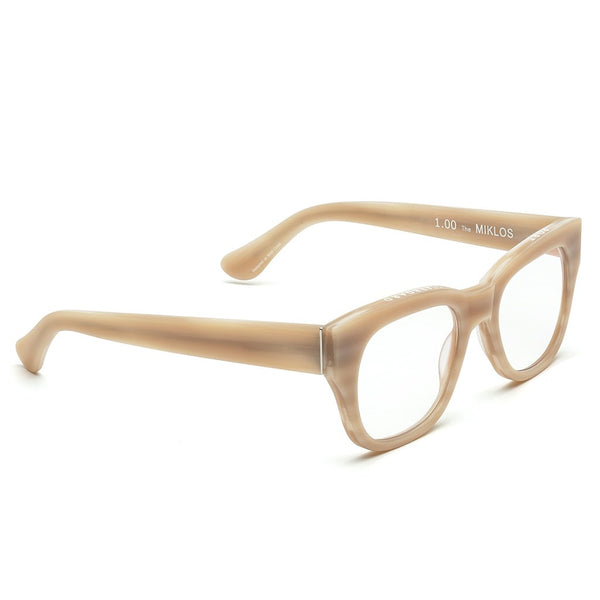 Miklos Reader Glasses - Bone - house of lolo