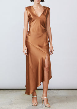 Desiree Deep V-Back - Bronze - house of lolo