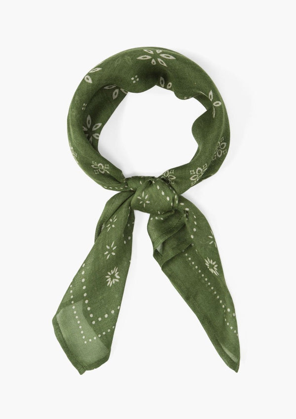 Viscose Bandana Dill - house of lolo