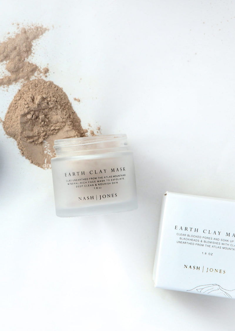 Earth Clay Mask - house of lolo