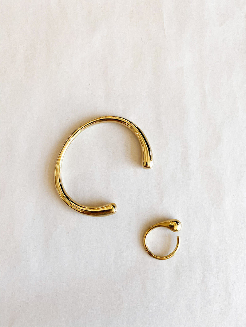 Delicate Dash Ring - Gold - house of lolo