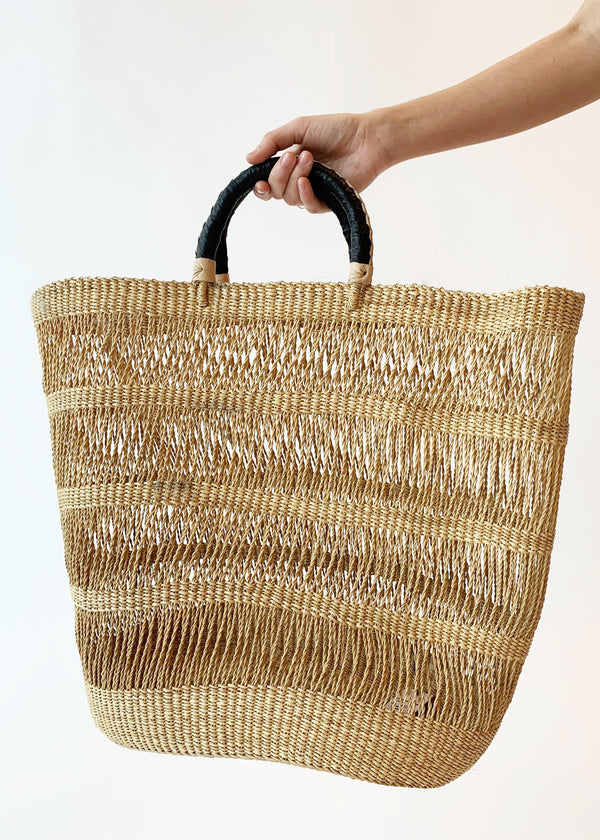 Beach Straw Basket - house of lolo