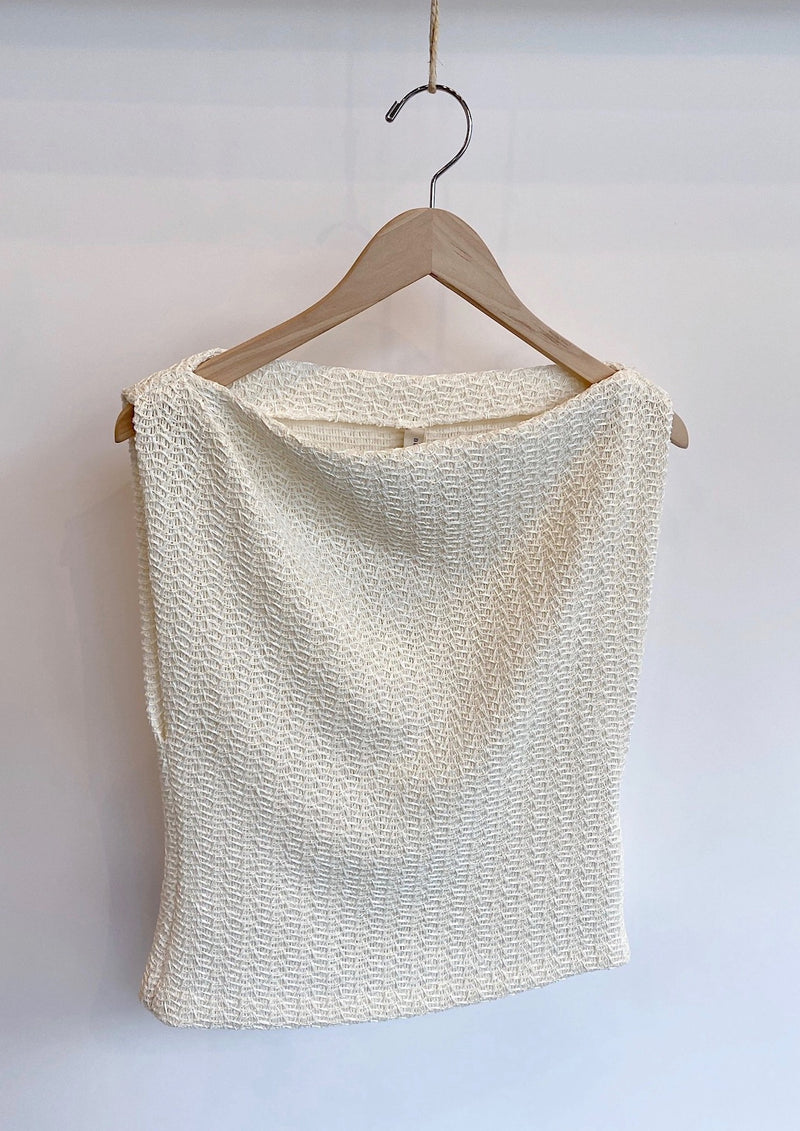 Coconut Cowl Top - house of lolo