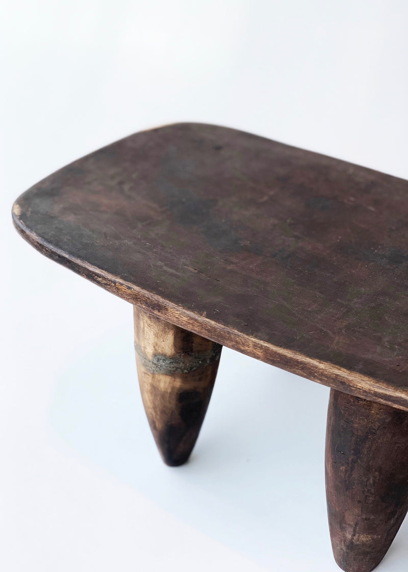 Vintage African Stool - house of lolo