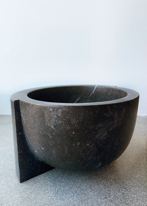 Z Kuno Bowl Black Marble - house of lolo