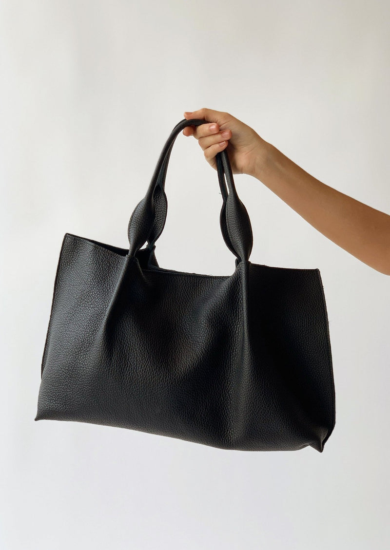 Isabel East West Tote - Black - house of lolo