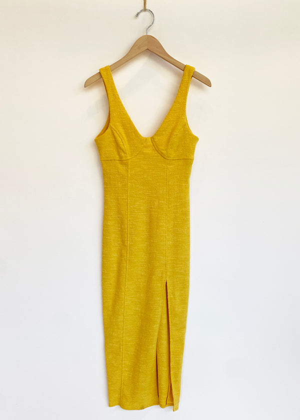 Cle'mence Dress - Marigold - house of lolo