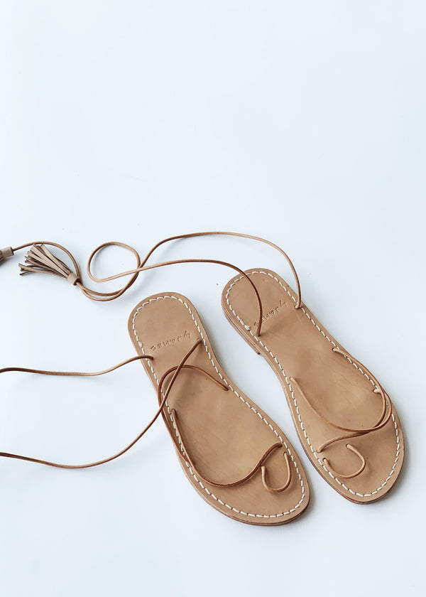 Stella Sandals - Nude - house of lolo