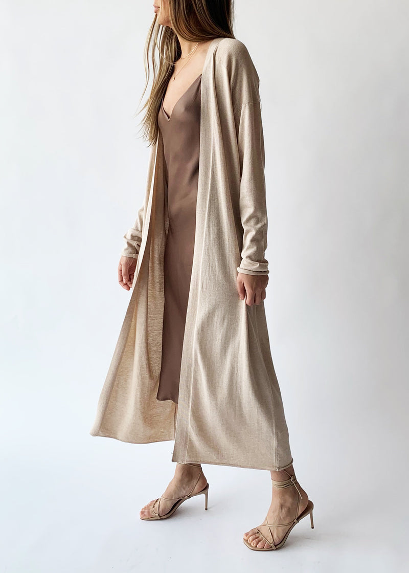 Kai Duster - Khaki Melange - house of lolo