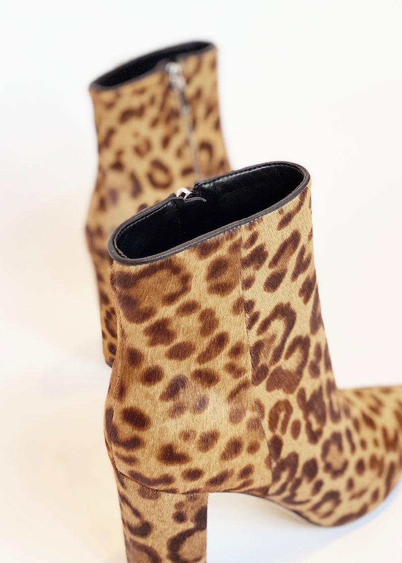 Leopard Ankle Bootie - house of lolo