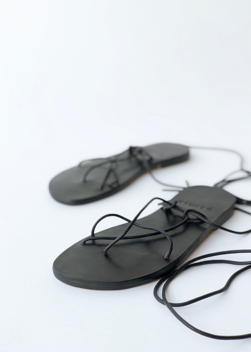 Thais Sandal - Black - house of lolo
