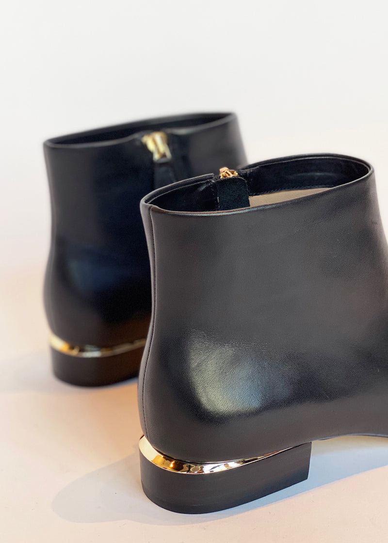 Low Bootie w/ Gold Accent - house of lolo