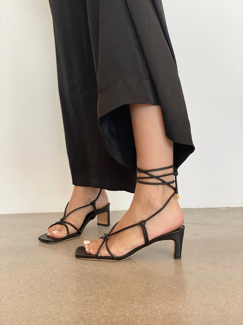 Graham Sandals - Black - house of lolo