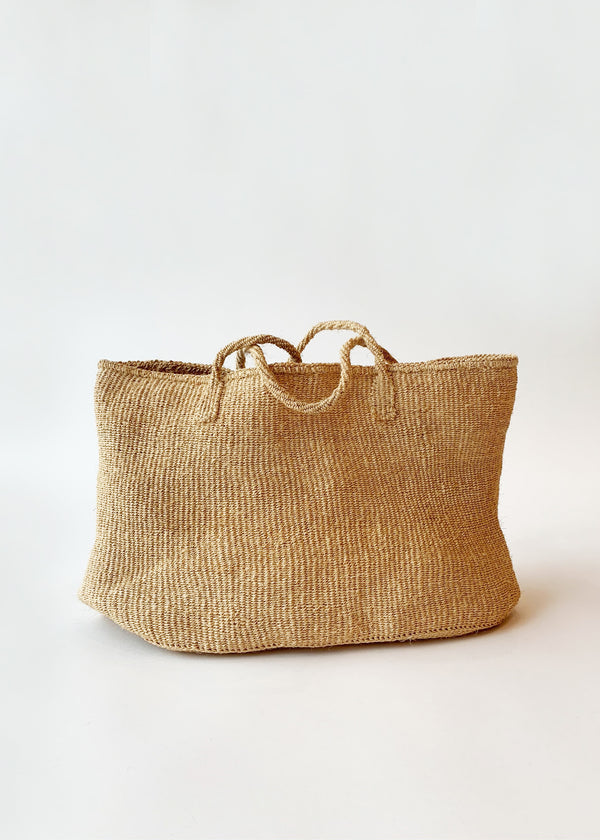 Sisal Tote - house of lolo