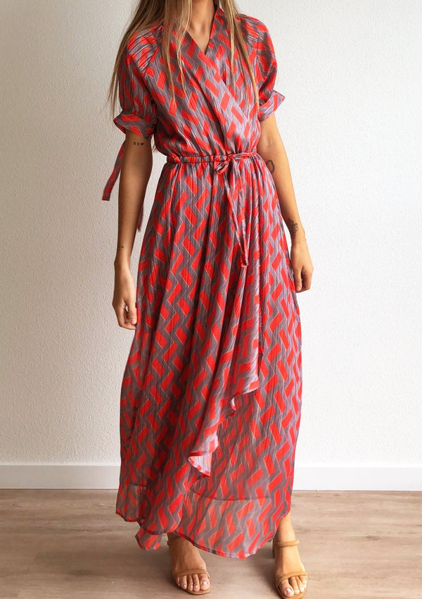 Raleigh Wrap Dress