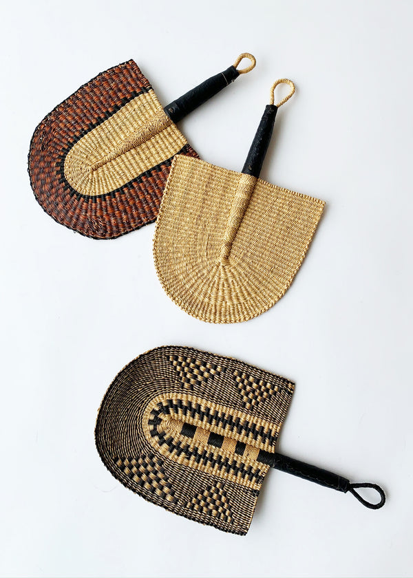 Hand Woven Bolga Fan - house of lolo
