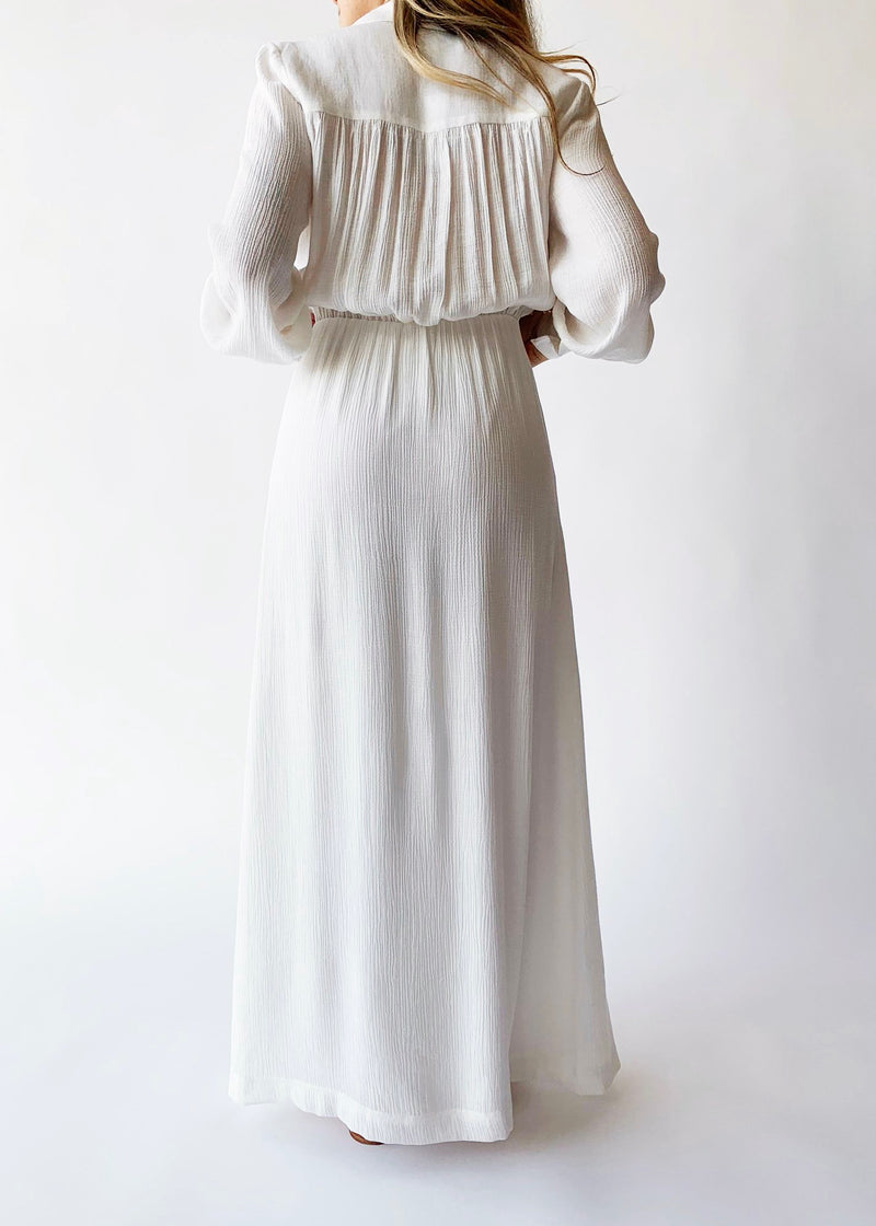 Madsen Maxi Dress - Salt - house of lolo