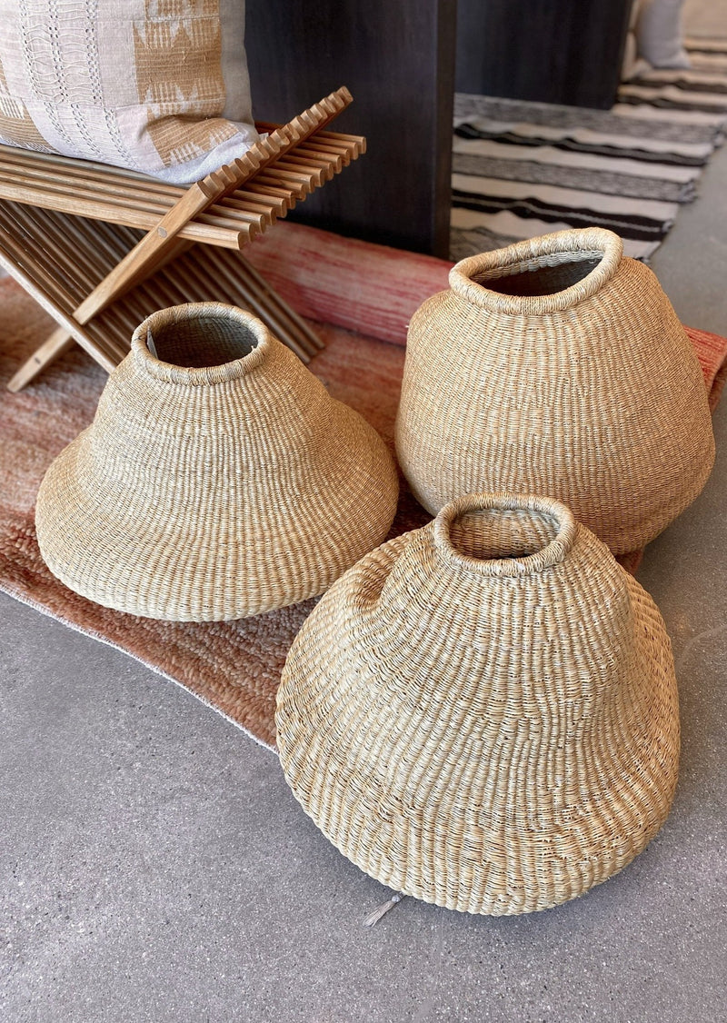 Medium Natural Grass Bud Vase - house of lolo