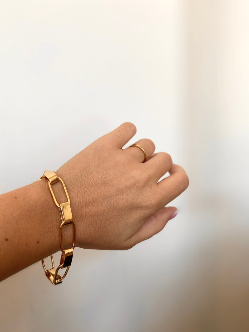 Capsule Link Bracelet - Gold - house of lolo