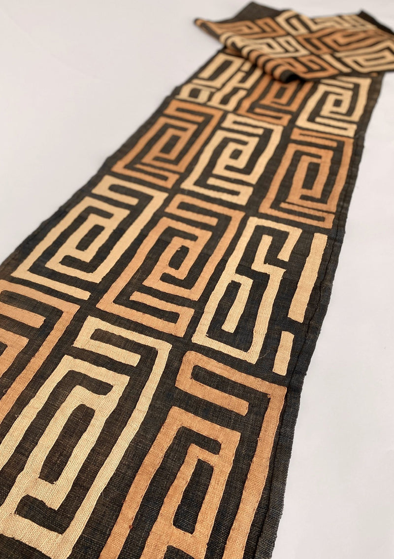 Vintage African Kuba Cloth - Classic Pattern - house of lolo