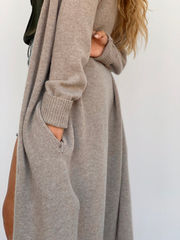 Maxi Cashmere Cardigan - house of lolo