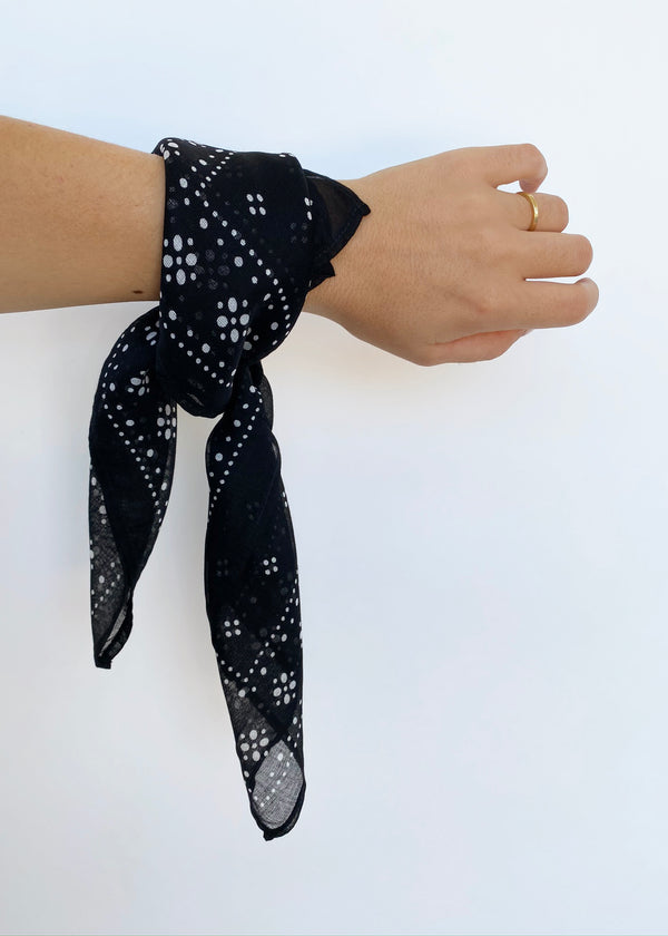 Print Bandana - Black - house of lolo