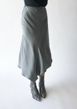 Bailey Skirt - Silver - house of lolo