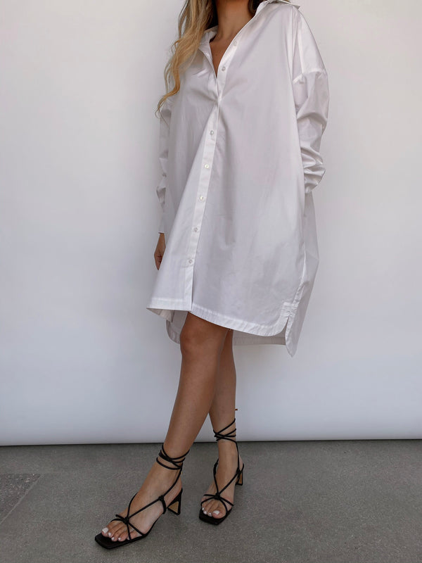 Aubrey Dress - White