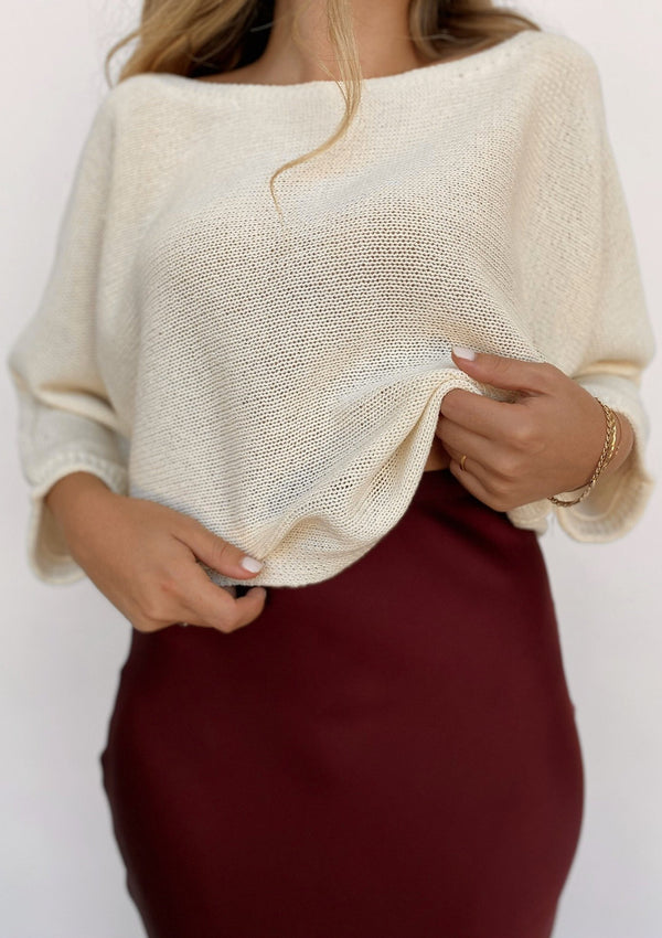 Hannes Off Shoulder Pullover