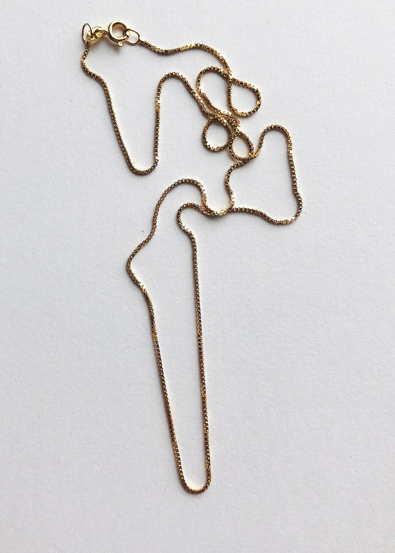 NY Box Chain Necklace - house of lolo