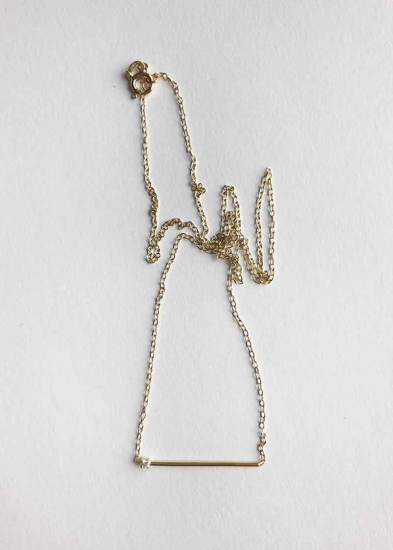 Matchstick Necklace - house of lolo