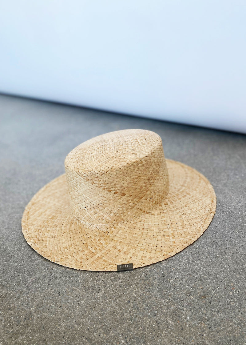 Reis Bolero Natural Straw Hat - house of lolo