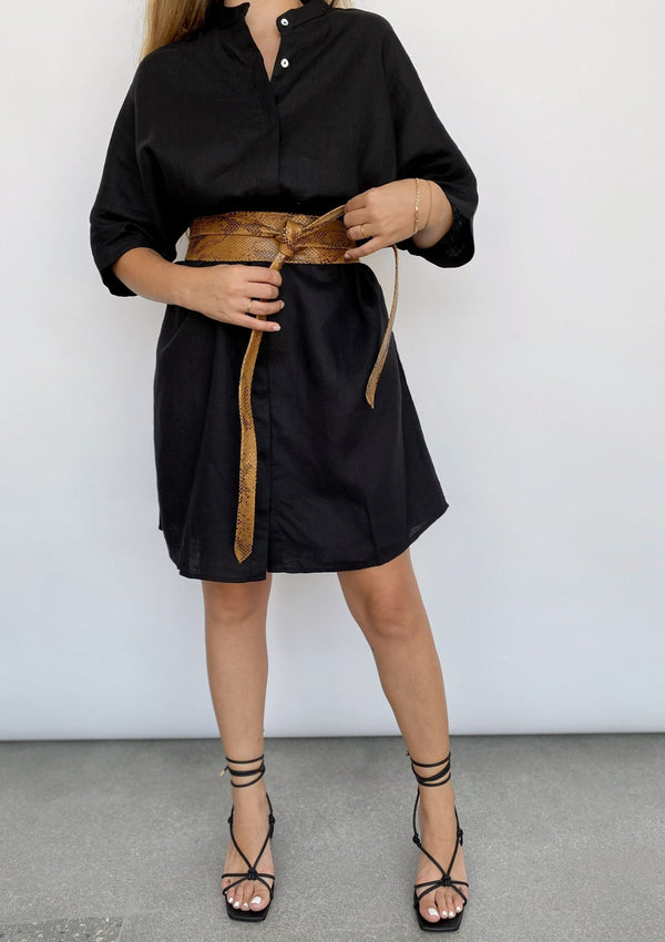Oversized Shirt Dress - house of lolo
