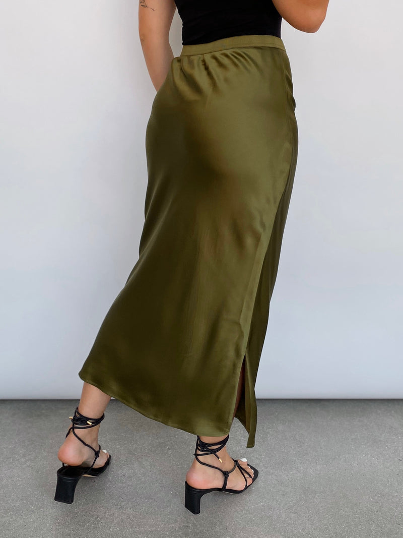 The Jessica Skirt - Moss - house of lolo