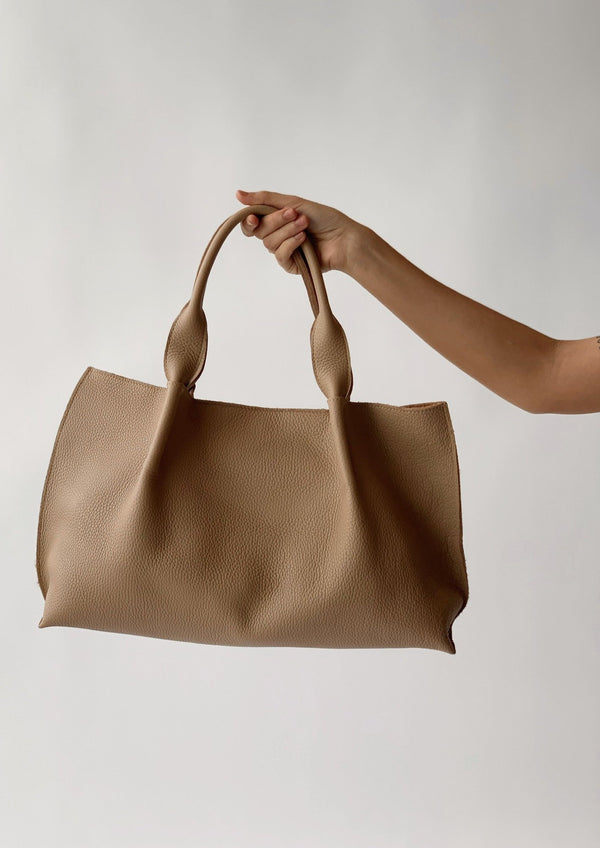 Isabel East West Tote - Oatmeal - house of lolo