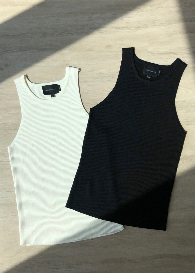 Claire Tank Top - Black - house of lolo