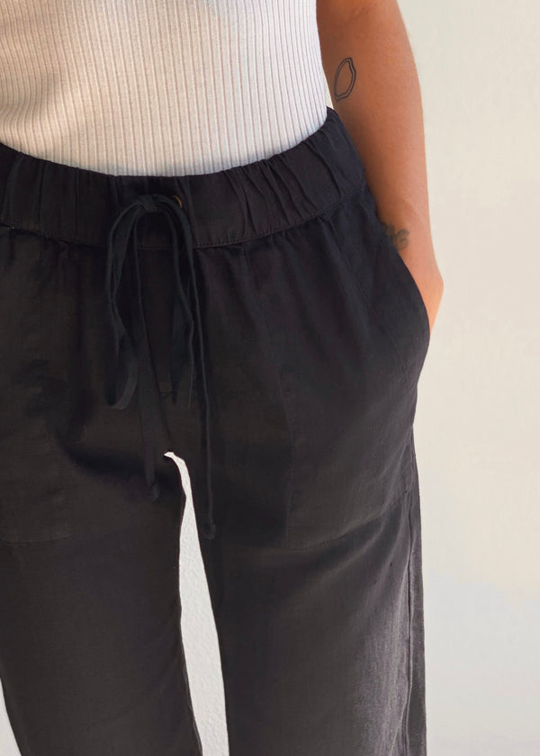 Easy Pant - Black - house of lolo