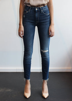 High-Waisted Looker Skinny Jeans - Close to the Edge - house of lolo